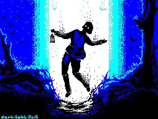 Close encounter - ZX Spectrum by dakael