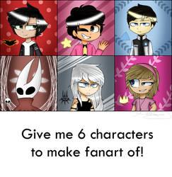 6 Fanarts Challenge