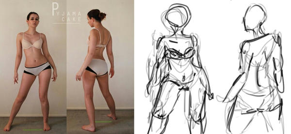 Character Design: Gesture Drawing by Phantismus