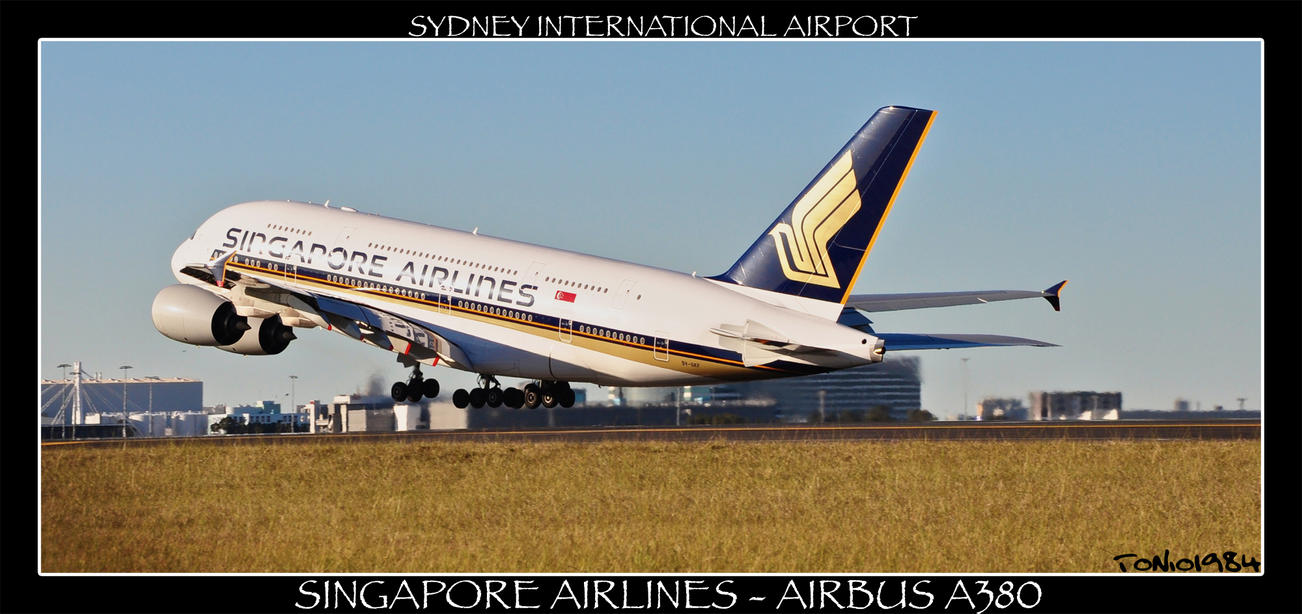 Singapore Airlines Airbus A380 by tonio1984 on DeviantArt