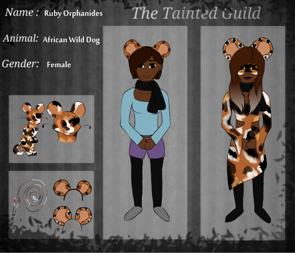 Wild Dog -Miraculous OC, Miraculous-Holders- By Bananas