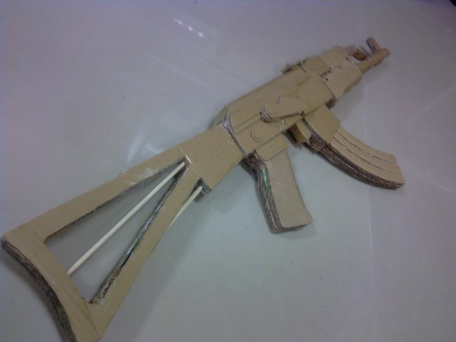 paper ak 47 How to make a paper gun making paper guns is easy and only requires a few common household items try your hand with a basic paper gun, and work your way.