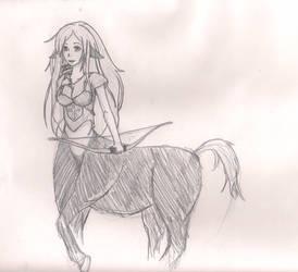 Cenatur Girl Sketch