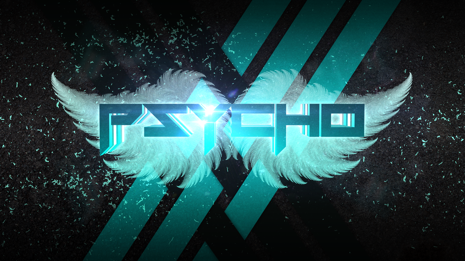 Wallpaper - Psycho 3D by Andre-DS on