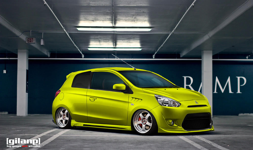 Mitsubishi Mirage 2012 Stance by gilangkharisma on DeviantArt