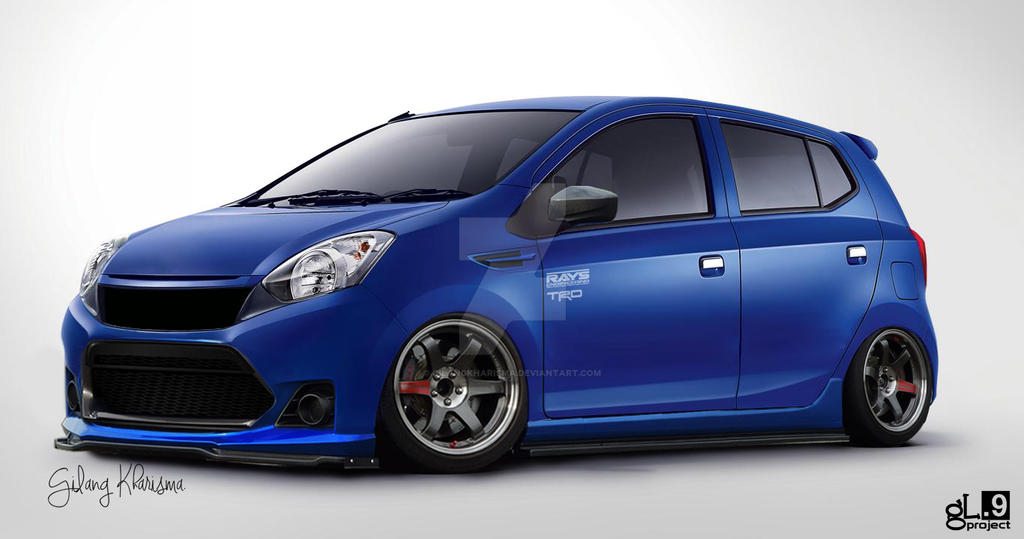 Toyota Agya 2013 Modification By Gilangkharisma On Deviantart
