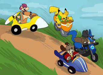 Kart Racing! by Devvcario
