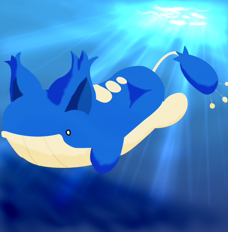 Wailord x Skitty by MsMannah on DeviantArt Wailord Wallpaper