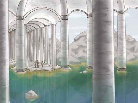 Screencap of Temple Scene