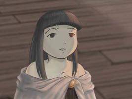 Screencap of Rin talking