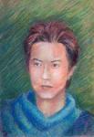 Sugita Tomokazu WIP 2 by littleguineapig