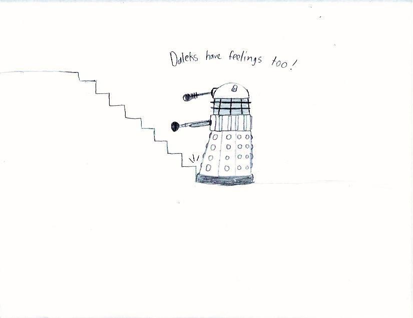 Daleks have feelings too! by holmesian1891
