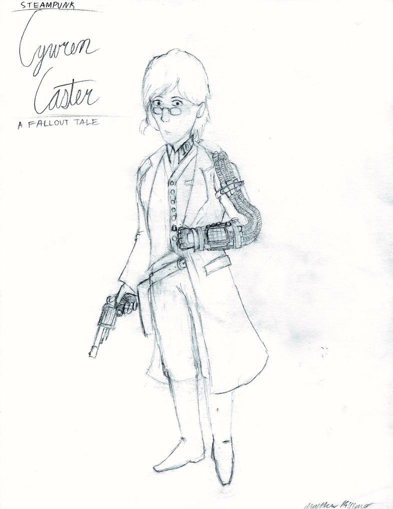 Steampunk Cywren Caster by holmesian1891