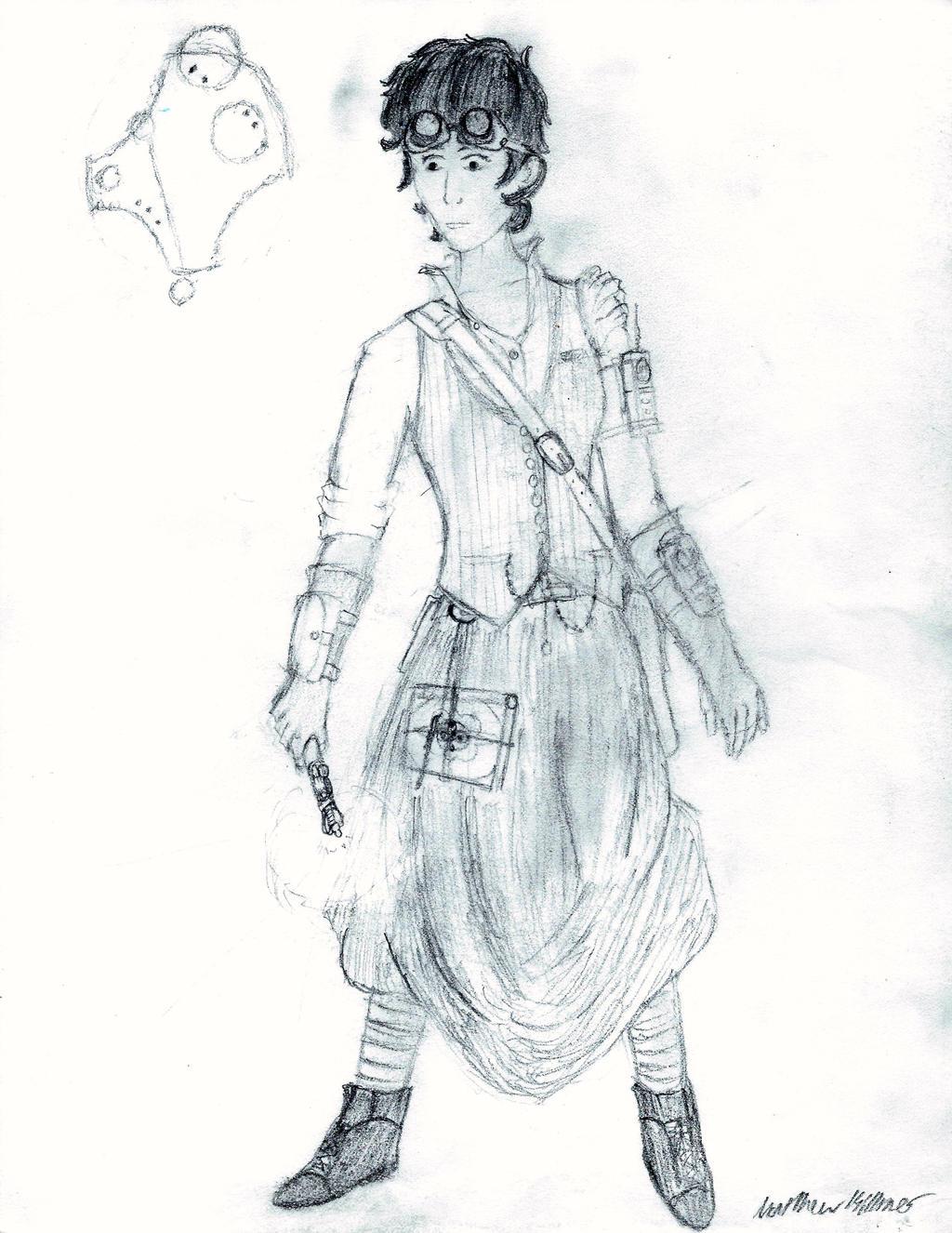 Steampunk Susan Foreman by holmesian1891