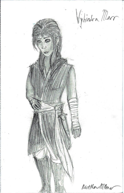 Original Character - Vyhindra Marr by holmesian1891