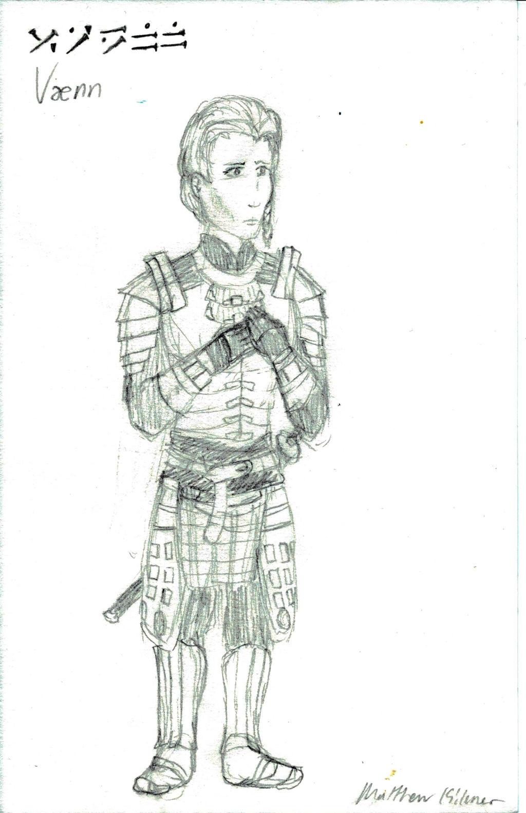 Elder Scrolls OC - Vaenn by holmesian1891