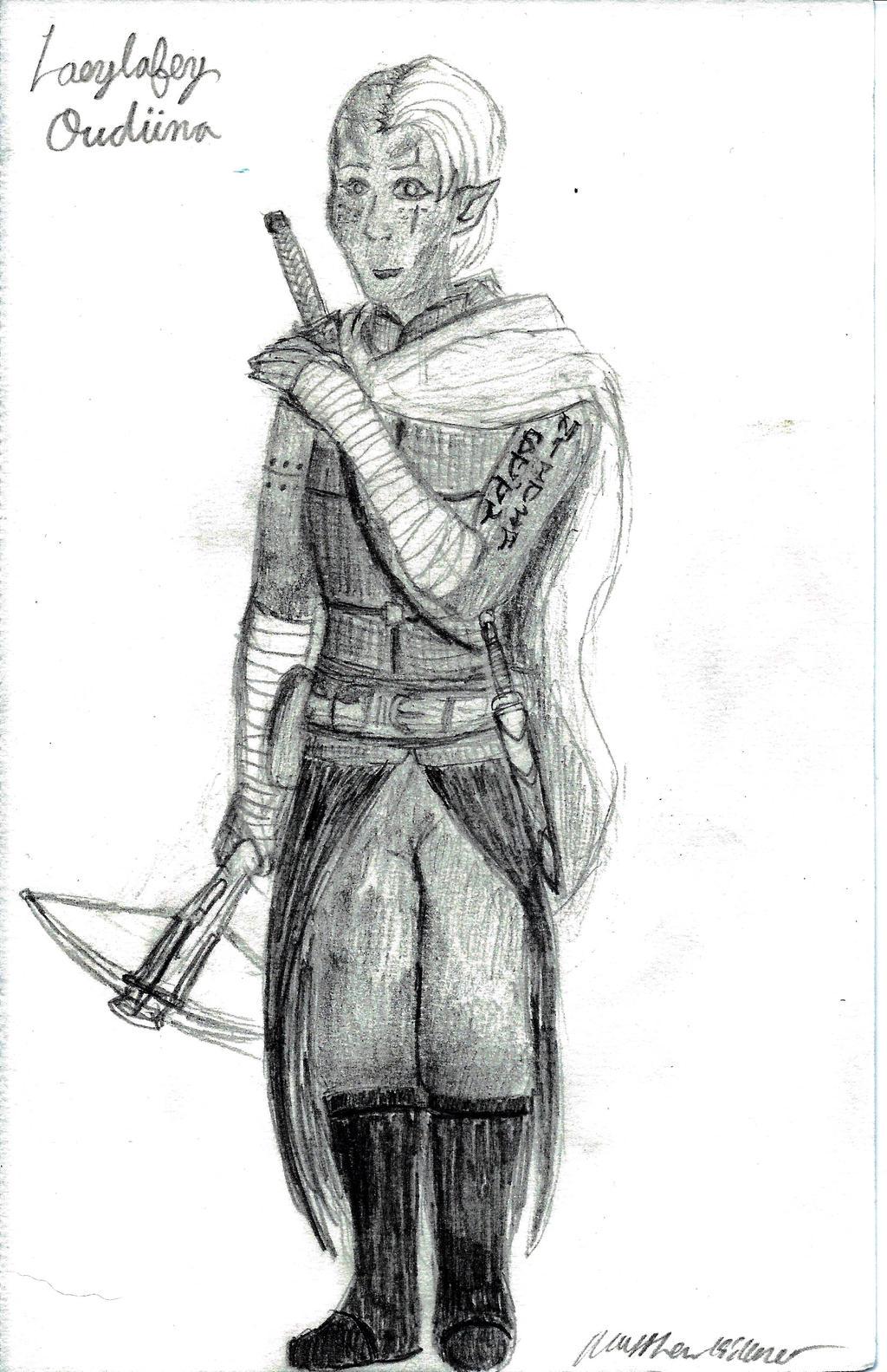 Laeylafey Oudiina by holmesian1891