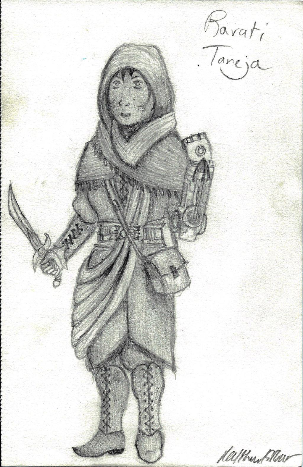 Original Character - Ravati Taneja by holmesian1891