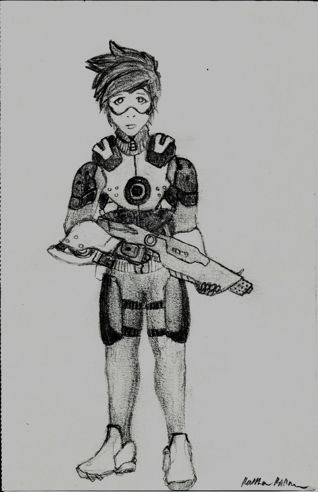 Overwatch - Combat Tracer by holmesian1891