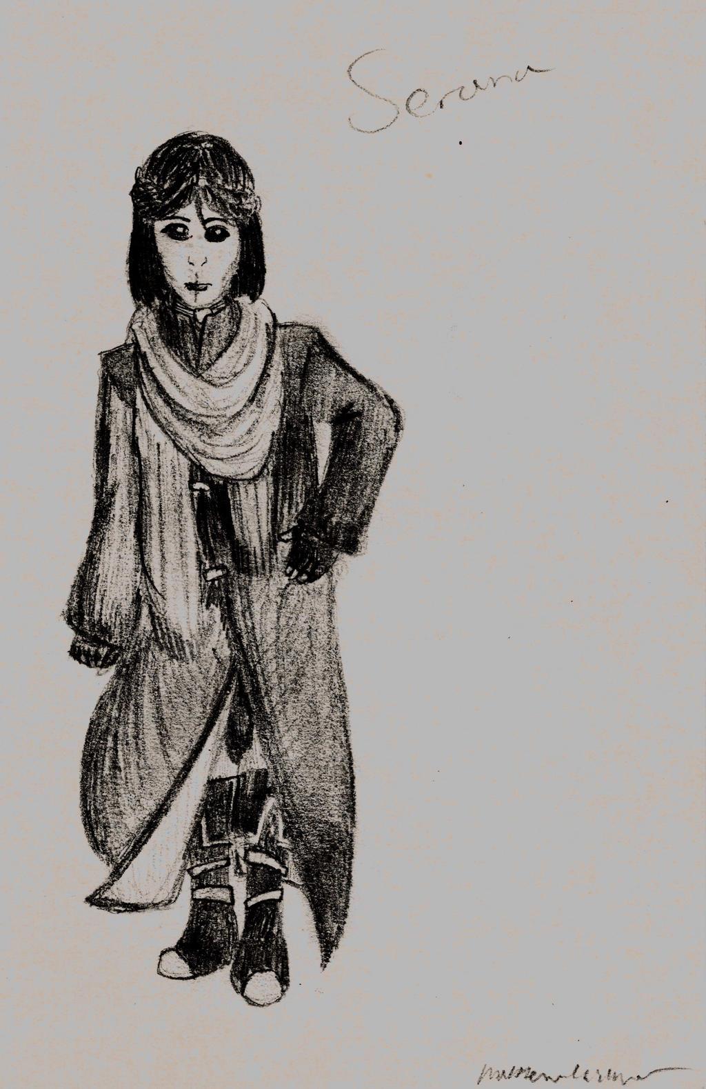 Serana in Desert Robes by holmesian1891