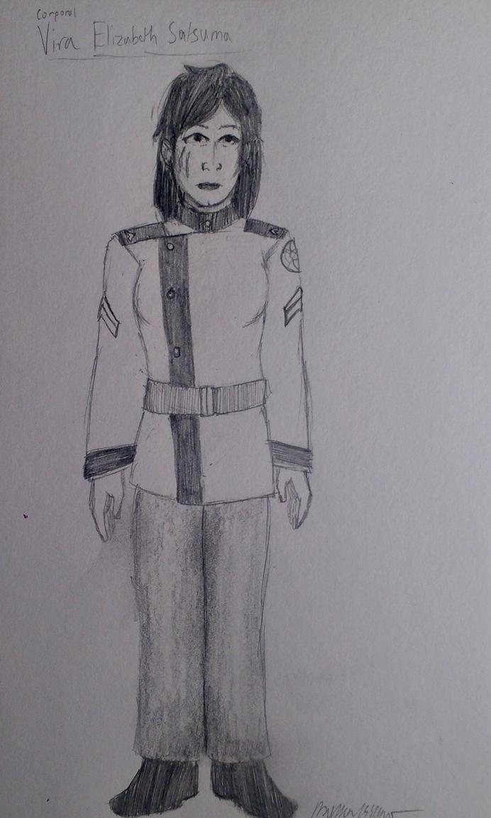 Corporal Vira Satsuma by holmesian1891