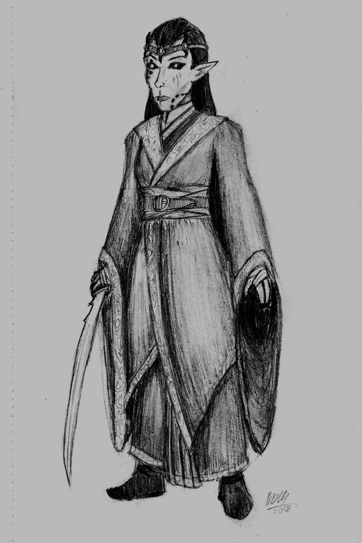 Aravis Sedrayne, Vampire Lord by holmesian1891