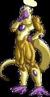 Golden Frieza by LordKizashi