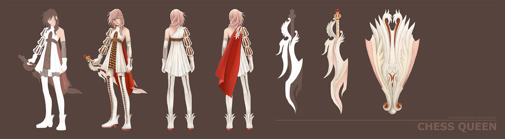 LIGHTNING RETURNS: Final Fantasy XIII - CustomGARB by JeanneCrescent