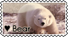 Bear Stamp by MooNyPiNk