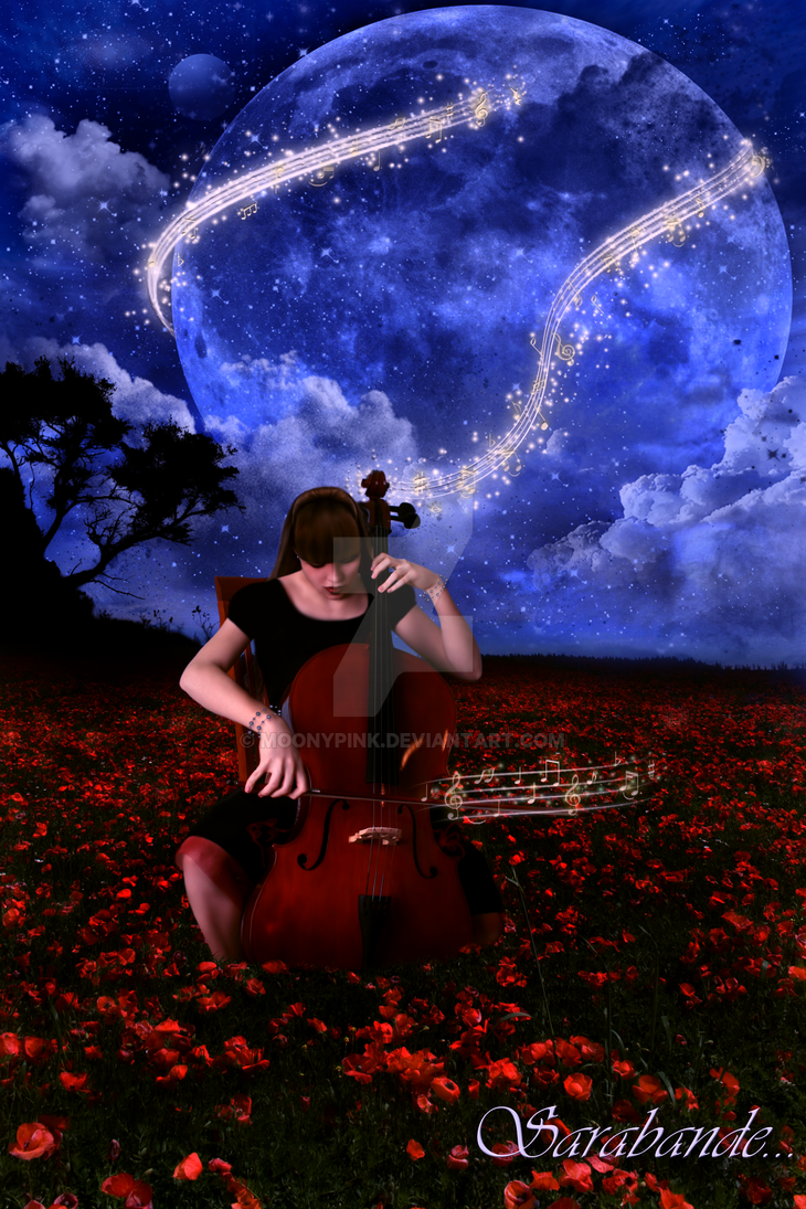 In Cello Place.. Sarabande by MooNyPiNk