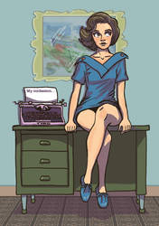 Confessions of a 50s Typist by Spencey