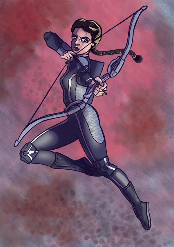 Katniss Everdeen (The Hunger Games) by Spencey