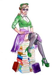 Librarian (Small Illustration + Video!)