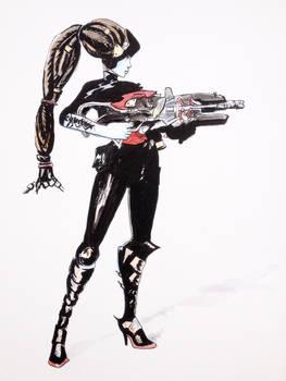 Widowmaker Noire (Overwatch)