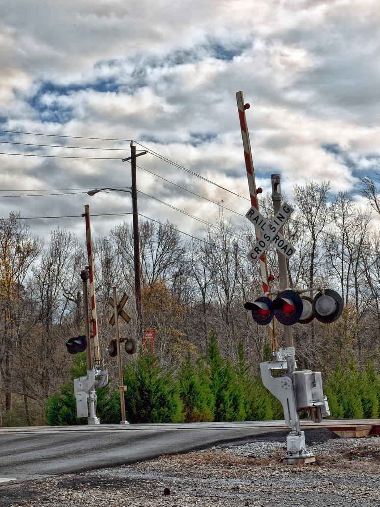 train crossing by artbylink