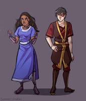 Zuko and Katara by Scarlet2Summer
