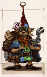 Gnome Tinker - Colored