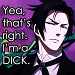 Claude is a dick... by sesshomaruluver101