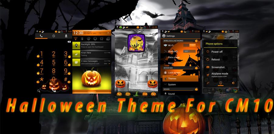 Halloween Soecial CM10 Theme