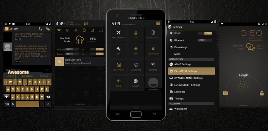 Brown Theme For CM10.1/10 by nitinvaid20