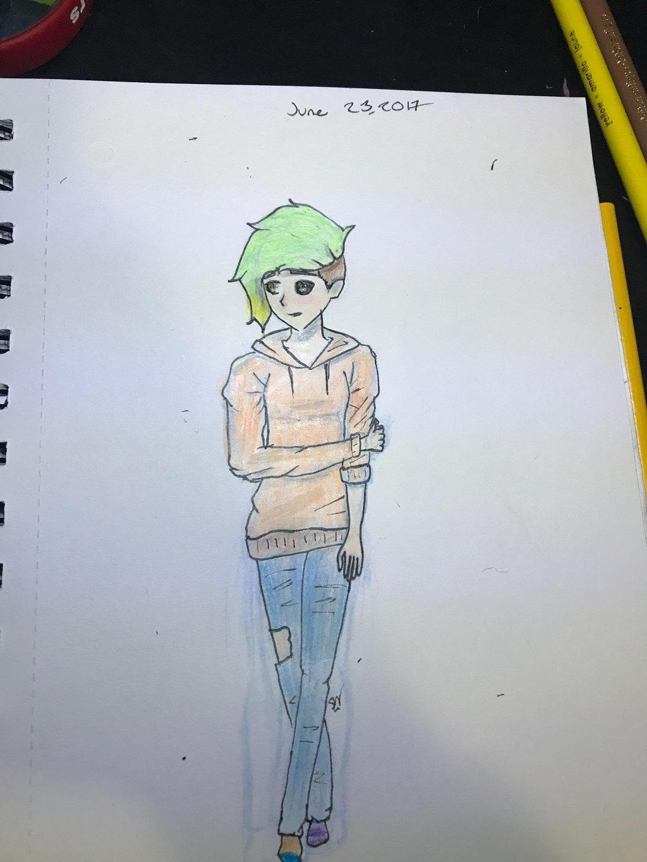 Original Flann drawing by NikaGhost