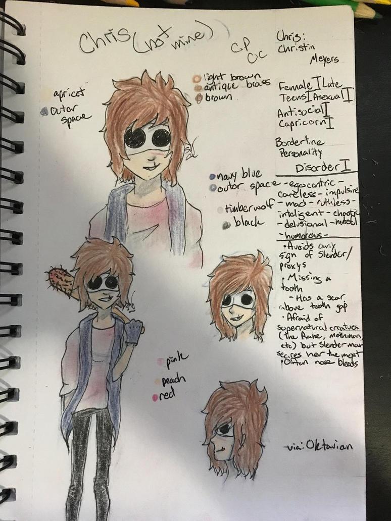 Chris (fan art?) by NikaGhost
