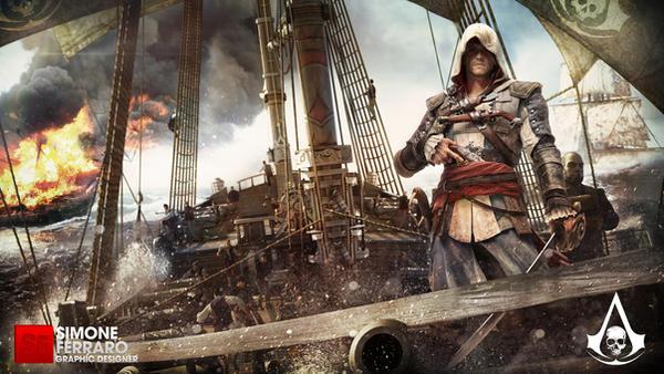 Assassin's Creed 4 - Black Flag by SimoneFerraroGD
