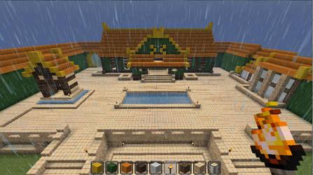 The Jasmine Dragon - Minecraft by INfamousBlackTar