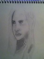 Amelia Jessica Pond by INfamousBlackTar