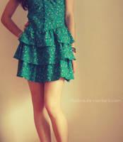 The beautiful dress by Ritolina