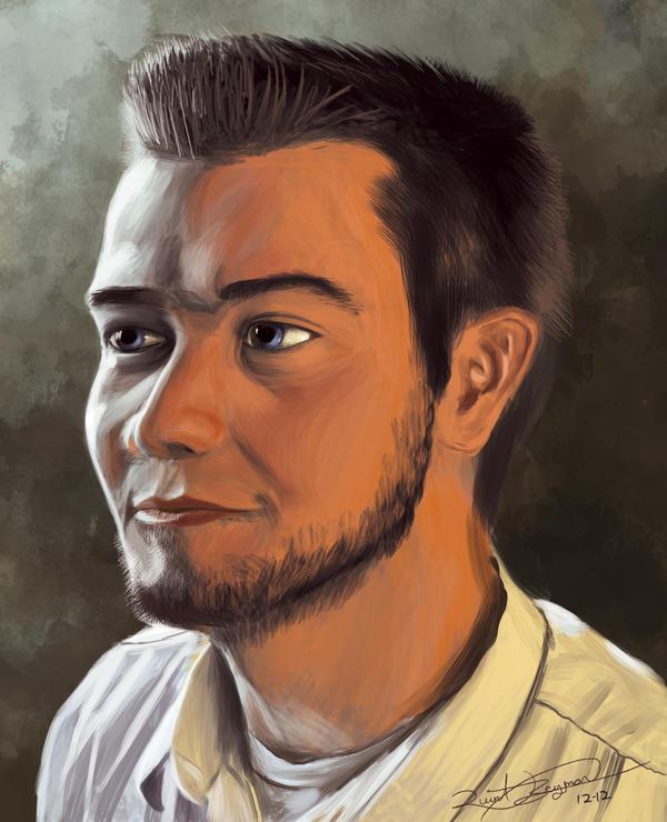 G's Portrait by QTroubadour