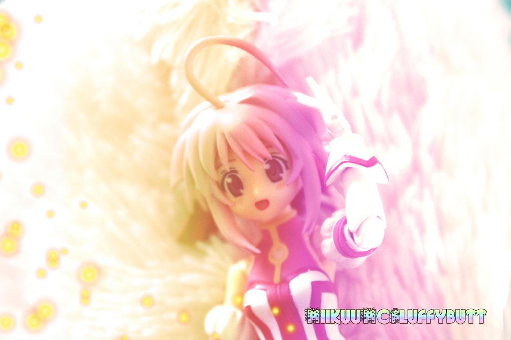 Shiny Rainbow Fluffles by MiikuuMcFluffybutt