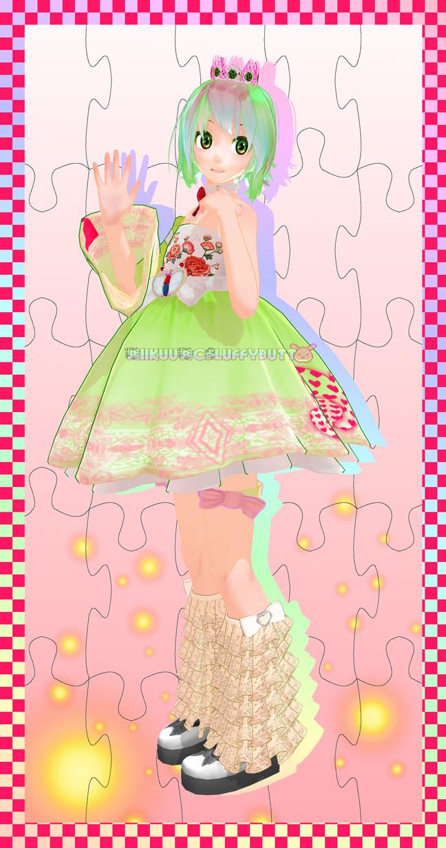 Lady Gumi LIMITED DL by MiikuuMcFluffybutt