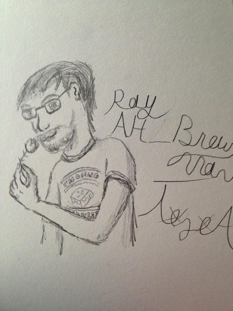 Ray Narvaez Jr AKA BrownMann by tozoa